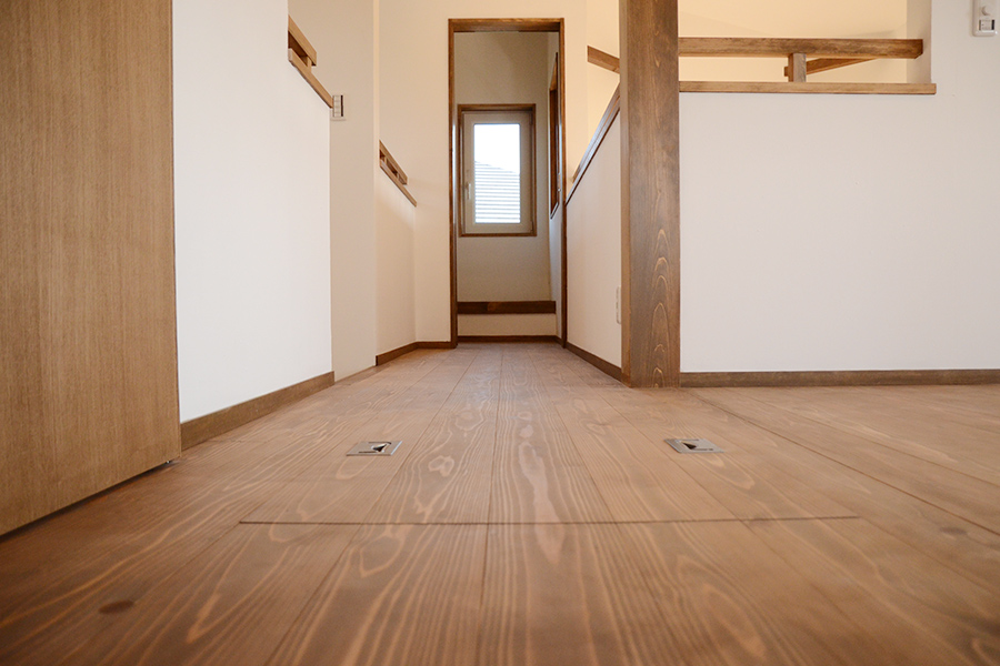 勝田組 オープンハウス 内観 2階
