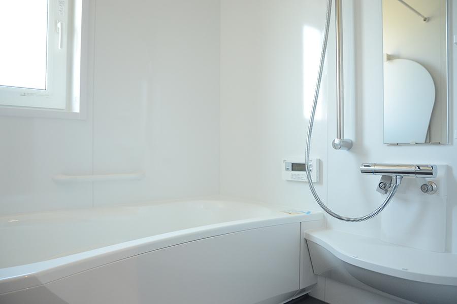 勝田組 オープンハウス 内観 バスルーム