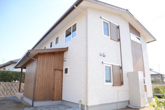 勝田組 山口市モデルハウス 外観